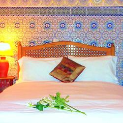 Agoumi Room, Dar Jameel bed and breakfast, Tangier, Morocco