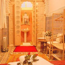 Bergach Suite, Dar Jameel bed and breakfast, Tangier, Morocco