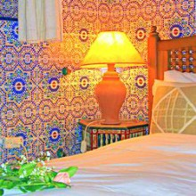 Hemri Room, Dar Jameel bed and breakfast, Tangier, Morocco