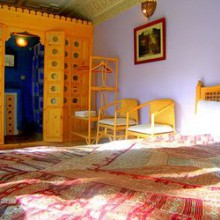Leila Suite, Dar Jameel bed and breakfast, Tangier, Morocco