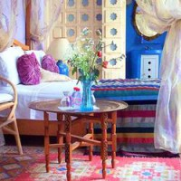 Sheherazade Suite, Dar Jameel bed and breakfast, Tangier, Morocco